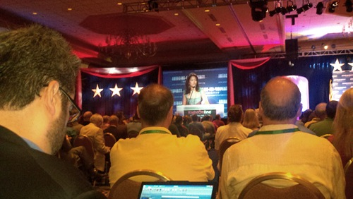 Michelle Malkin at RightOnline
