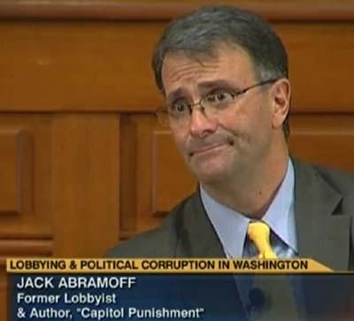 Jack Abramoff, the disgraced lobbyist, appears on CSPAN to discuss his book.