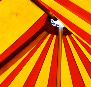 photo of a big tent by flickr user timparkinson