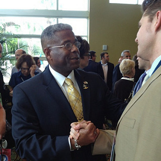 Rep. Allen West (FL) at Republican Jewish Coalition event.