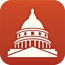 The logo of the new Congress by the Sunlight Foundation for iOS.
