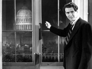 Photo of scene from film, Mr. Smith Goes to Washington