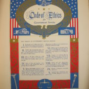 """""""Code of Ethics for Government Service,"""" 1958"""