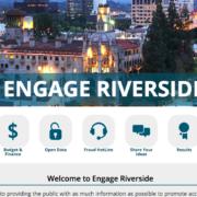 Screenshot of Engage Riverside