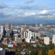 Skyline of Portland, Oregon